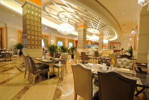 243平米现代风格酒店大厅装修效果图鉴赏
