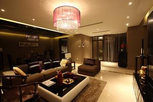 东南亚风格一室一厅一卫装修效果图