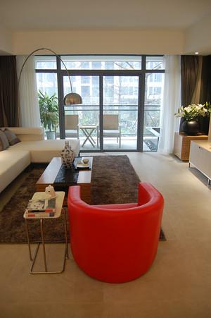 现代简约风格两室两厅一卫设计装修效果图
