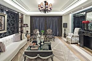 新古典主义风格大户型室内整体设计装修效果图