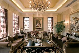 新古典主义风格别墅室内整体设计装修效果图