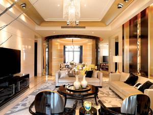 300平米欧式风格两层别墅室内整体设计效果图