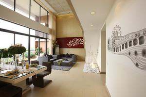 简约东南亚风格三居室装修效果图赏析