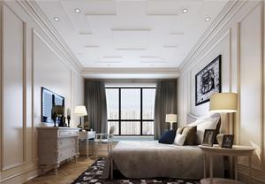 30平米简欧风格卧室吊顶设计装修效果图