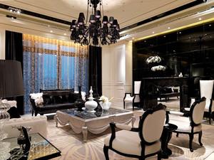 189平米简欧风格三室两厅一卫精装修效果图
