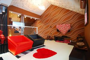 144平米后现代简约风格三居室装修效果图大全