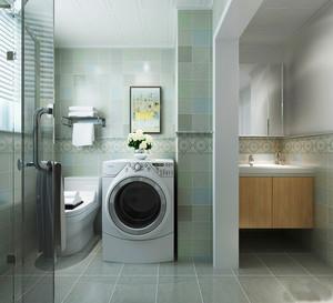 现代简约风格卫生间瓷砖设计装修效果图