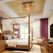 东南亚风格大户型卧室吊顶设计装修效果图