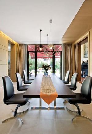 现代简约风格大户型室内样板房装修效果图