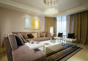 现代简约风格三居室精装修效果图大全