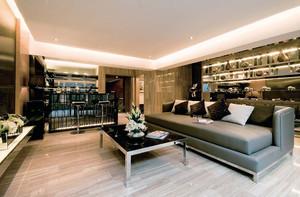 新古典主义风格两层别墅室内整体设计装修效果图