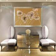 后现代风格别墅室内玄关设计装修效果图