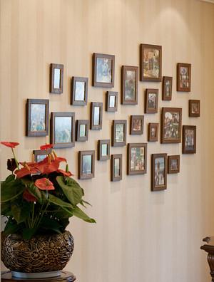 现代简约风格照片墙设计装修效果图