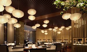 180平米东南亚风格餐厅装修效果图鉴赏