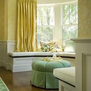 大户型现代欧式室内飘窗装修效果图实例
