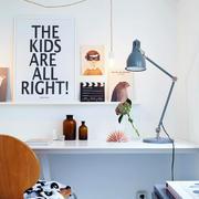 北欧风格单身公寓书桌设计效果图鉴赏