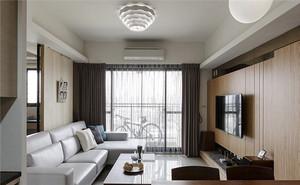 北欧风格单身公寓室内整体装修效果图赏析