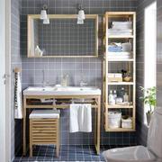 15平米北欧风格卫生间瓷砖设计装修效果图鉴赏