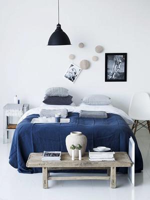 32平米地中海风格卧室装修效果图鉴赏