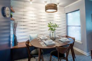 地中海风格小户型餐厅装修设计效果图赏析