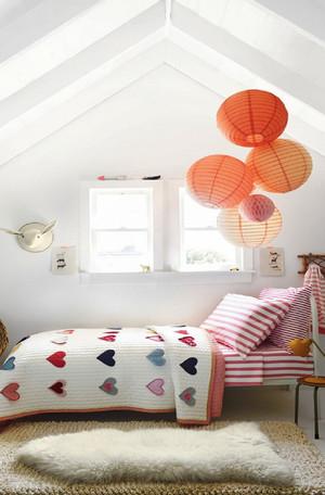 27平米现代简约风格阁楼儿童房装修效果图