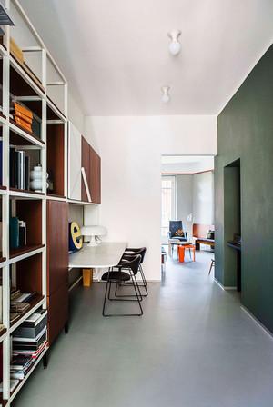 后现代风格小公寓室内装戏效果图鉴赏