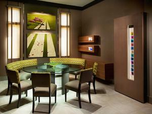 16平米后现代风格餐厅背景墙效果图赏析