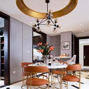 后现代风格大户型餐厅吊顶装修效果图鉴赏