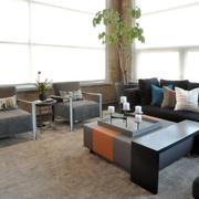 现代风格小户型客厅沙发效果图赏析