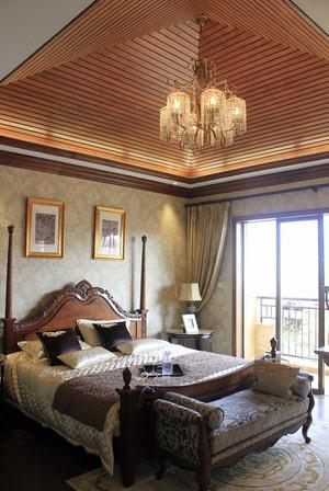 432平米美式风格别墅室内装修效果图鉴赏