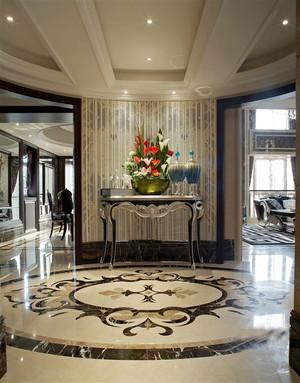 欧式风格别墅室内整体装修效果图鉴赏