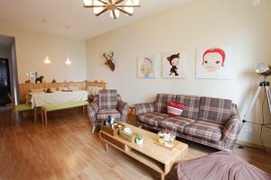 日式风格一居室室内设计装修效果图鉴赏
