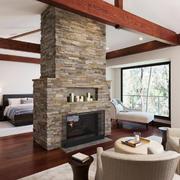 120平米现代美式风格卧室隔断设计效果图鉴赏