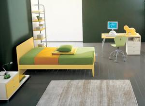 现代简约风格三居室儿童房设计装修效果图赏析