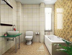 14平米现代简约风格卫生间装修设计效果图