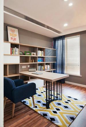 现代美式风格大户型书房设计效果图鉴赏