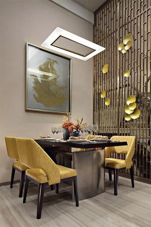 135平米现代中式风格餐厅吊灯效果图赏析