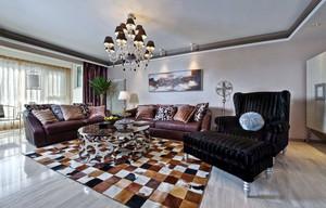 新古典主义风格四居室室内装修效果图赏析