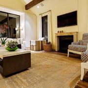 宜家风格小户型客厅电视背景墙装修效果图赏析
