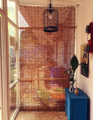 120平方米典雅中式风格阳台装修效果图