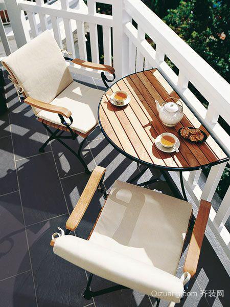别墅型现代欧式风格阳台装修效果图鉴赏