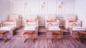 110平米现代风格美容院室内装修效果图赏析