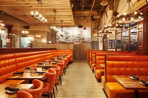 132平米美式风格餐厅装修效果图鉴赏