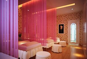 95平米现代风格美容院装修效果图鉴赏