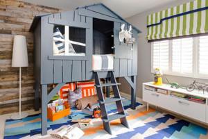 北欧风格三居室创意儿童房装修设计效果图鉴赏