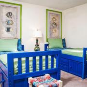 36平米地中海风格儿童房设计装修效果图赏析