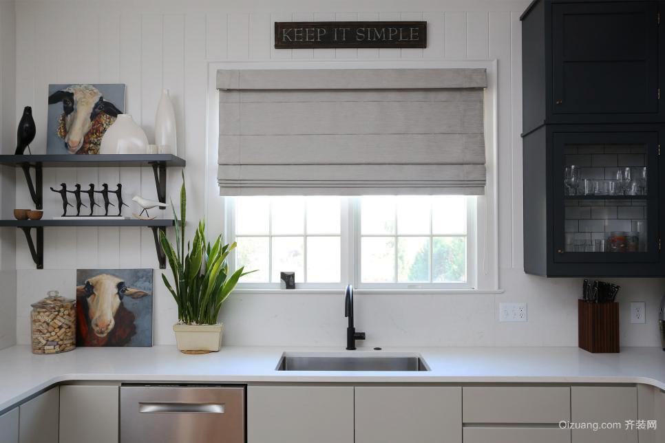 18平米都市风格小厨房设计装修效果图赏析