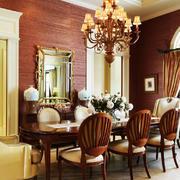古典欧式风格别墅餐厅吊灯效果图鉴赏