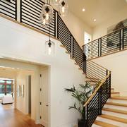 后现代风格别墅楼梯设计效果图鉴赏
