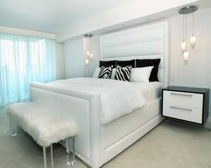 100平米简欧风格卧室背景墙装修设计效果图鉴赏
